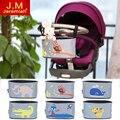 Cochecito de bebé de coche de bebé cesta colgante animal de la bolsa de almacenamiento de bolsa de accesorios cochecito bolsa de bolsa de pañales de mama