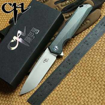 CH 3507 Flipper folding knife M390 Blade tatical ball bearing Titanium handle outdoor gear camping survival Knives EDC tools - DISCOUNT ITEM  0% OFF All Category