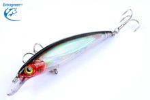 1PCS Crystal Minnow Lure Floating Bait Wobblers 11cm 13.4g Fishing Lure with Treble Hooks Swimming Bass Pike Perch Fishing Bait