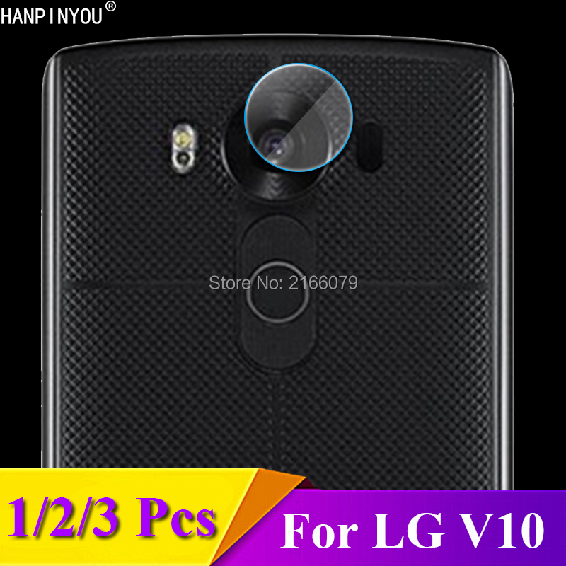 1/2/3 Pcs/Lot For LG V10 H960A H900 H901 VS990 5.7 Rear Camera Lens Protective Protector Cover Soft Tempered Glass Film Guard
