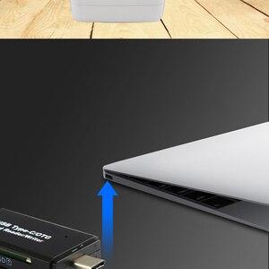 Image 5 - AIFFECT Type C & Micro USB & USB 3 en 1 OTG lecteur de carte haute vitesse USB2.0 3.0 universel OTG TF/SD pour Android Extension dordinateur