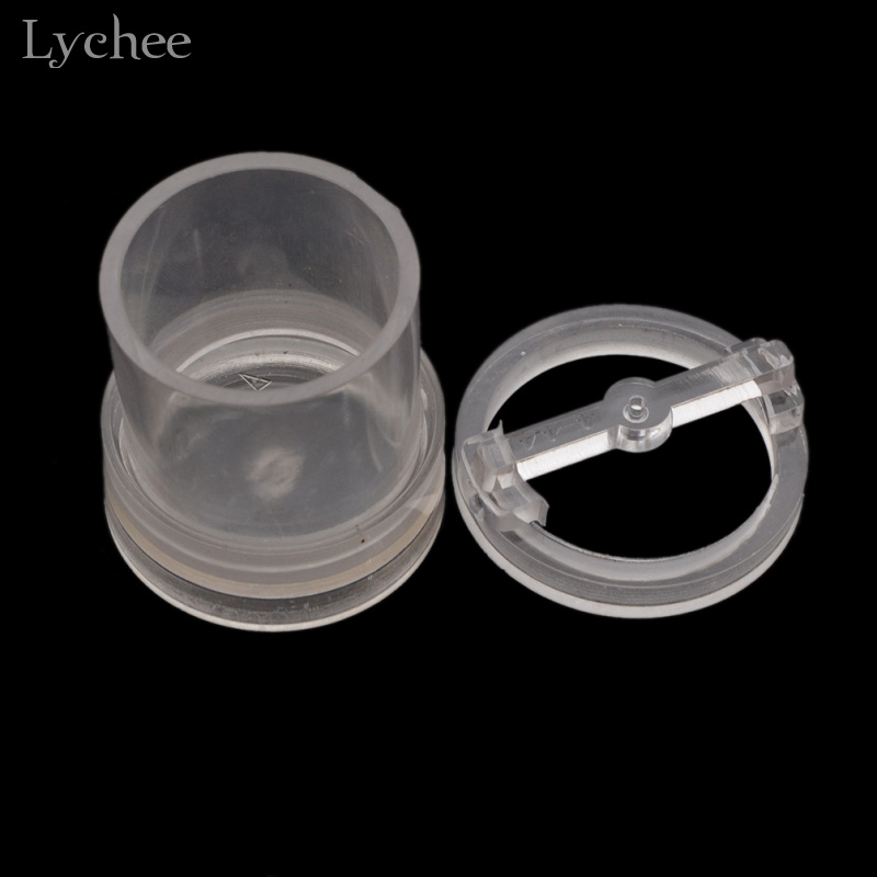 Lychee 1pc DIY Candle Making Mold Model Round Candle Mould Handmade Craft Candle Making Tool