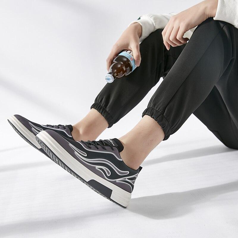 attaché Sneaker Up Nouvelle Les Marque Hommes gris Noir Noir Vulcanisé 2018 Toutes Arrivée Sélections Chaussures Printemps Jookrrix Dentelle Mode rouge Blanc Croix De vawOqIUn5