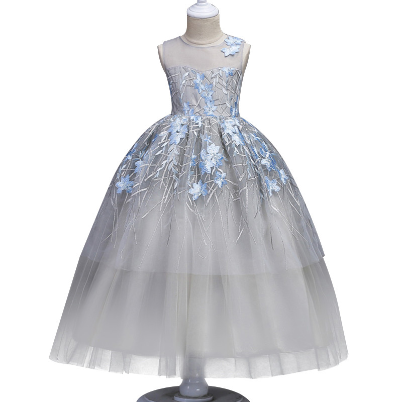 New Girls Dress Beautiful Teenager baby clothing Princess Wedding Dresses Halloween Costumes Kids Party dress For Girls Clothes