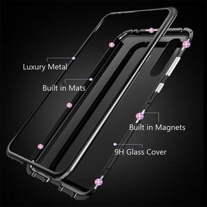 Image 3 - WK Magnetische Adsorptie Case voor iPhone 7 7 p Luxe Magneet Metalen Aluminium Telefoon Gehard Glas Cover voor iPhone 8,8 p X