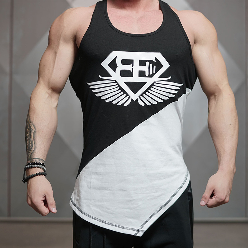 Zogaa 2019 New Brand Men's   Tank     Tops   Men Gyms Stringer Sleeveless   Tops   Fitness Clothing Cotton Sportwear Muscle   Tanks   Hot Sale