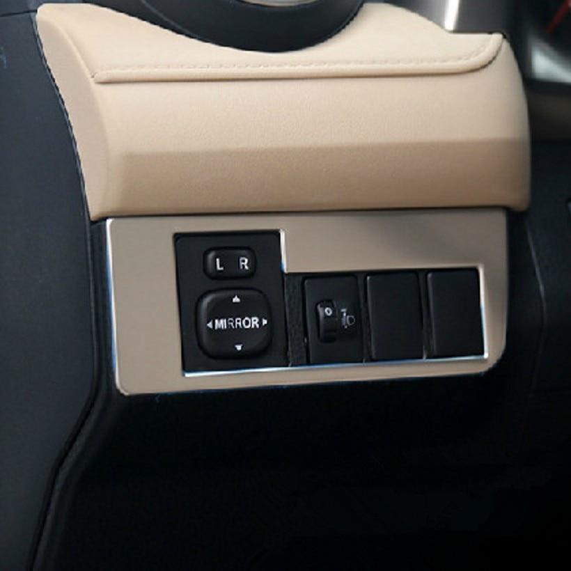 Price Leblanc Toyota >> Car stainless steel mirror adjustment button decorative ...