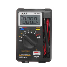 VC921 Integrated Personal Handheld Mini Pocket Digital Multimeter Auto Range Data Hold Function Multimetro