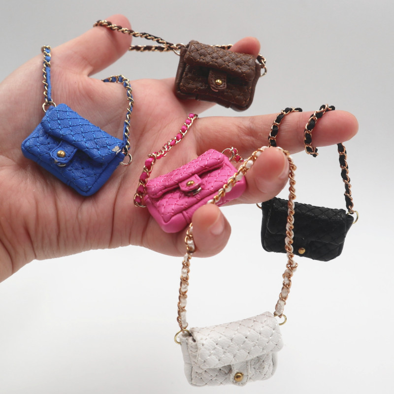 1 8 BJD hand bag 5 color chain package Blyth jerryberry AZONE in Dolls Accessories from Toys Hobbies