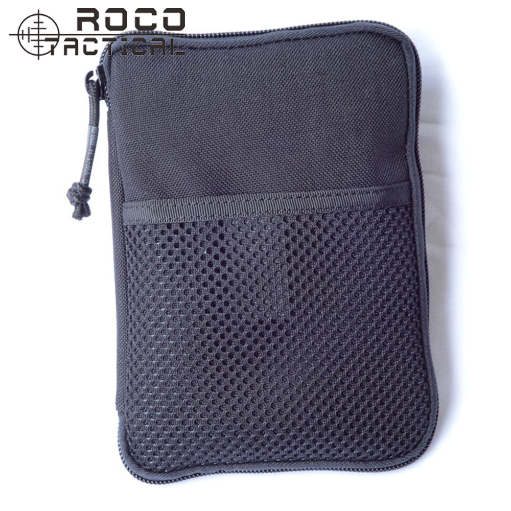 ROCOTACTICAL Military Wallet Bag With Front Mesh Coins Pocket Combat Mini MOLLE Travel Pocket Organizer Fits IPhone6 1000D Nylon