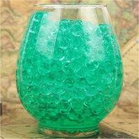 100 000PCS Bag Pearl Dark Green Vase Filler Shaped Crystal Soil Water Beads Mud Grow Magic