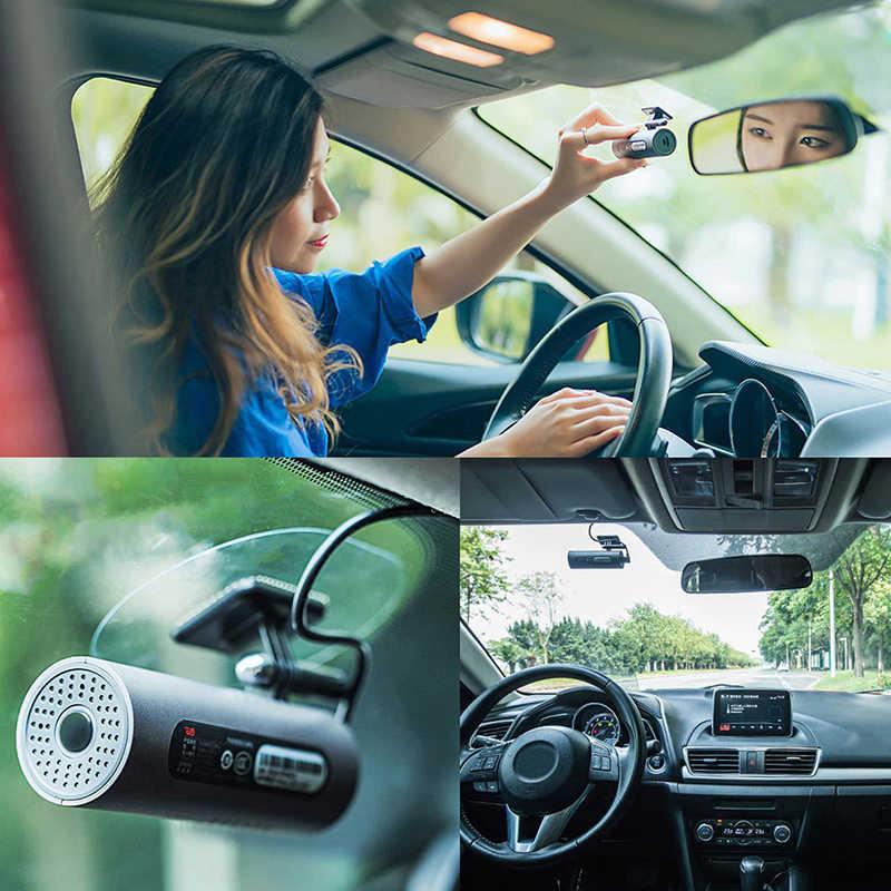 Голосовое(С РУССКОЙ ОЗВУЧКОЙ) управление Xiaomi 70mai Автомобильный Видеорегистратор Full HD 1080p Dash Cam вождение рекордер с ночным видением и углом съемки 130 °