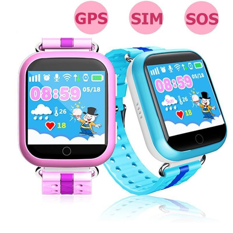 imágenes para GPS reloj inteligente Q750 Q100 baby watch con Wifi táctil de 1.54 pulgadas Dispositivo de Localización de Llamadas pantalla SOS Perseguidor de Seguros para Niños PKQ50 Q80 Q90