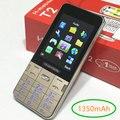 "T2 teclado Ruso menú Ruso 1350 mAh 2.8 ""dual sim teléfono móvil barato Teléfono Celular gsm Teléfonos celulares originales teléfonos móviles"