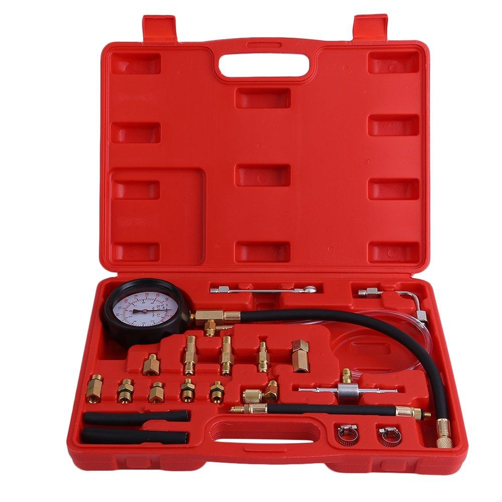 0-140 PSI pompe d'injection de carburant injecteur testeur manomètre essence voiture véhicule huile Combustion pulvérisation outil de diagnostic