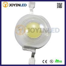 Акция, настоящий полный Ватт, 10 шт., 90-110 лм, Теплый чистый белый Bridgelux, высокомощные светодиодные чипы, 1 Вт, 3 Вт