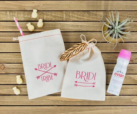 Custom Bride Tribe Destination Wedding Hangover Kit Favor Gift Welcome Bags Bachelorette Hen Bridal Shower Party Bag In Wring Supplies