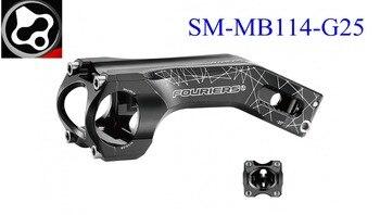 FOURIERS -25 degrees MTB bike stem AL6061-T6 Full CNC made Length 80/90/100/110/120mm Bicycle stem