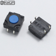 10pcs 12*12*5.8mm 4pin Tactile Tact Mini Push Button Switch 12x12x5.8mm 4p DIP Micro Switch Waterproof