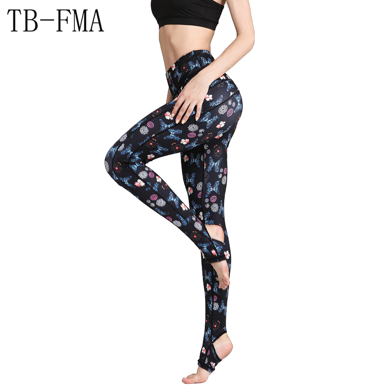 Women Sexy Yoga Pants High Waist Stretchy Dry Fit High Waist Fitness Leggings Push Hip Athletic Sport Leggings Running Tights