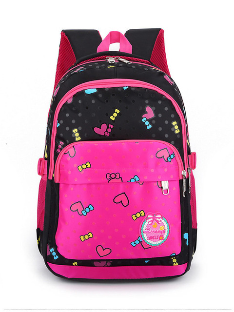New Waterproof School Bags for Girls Brand Women Backpack Cheap ...