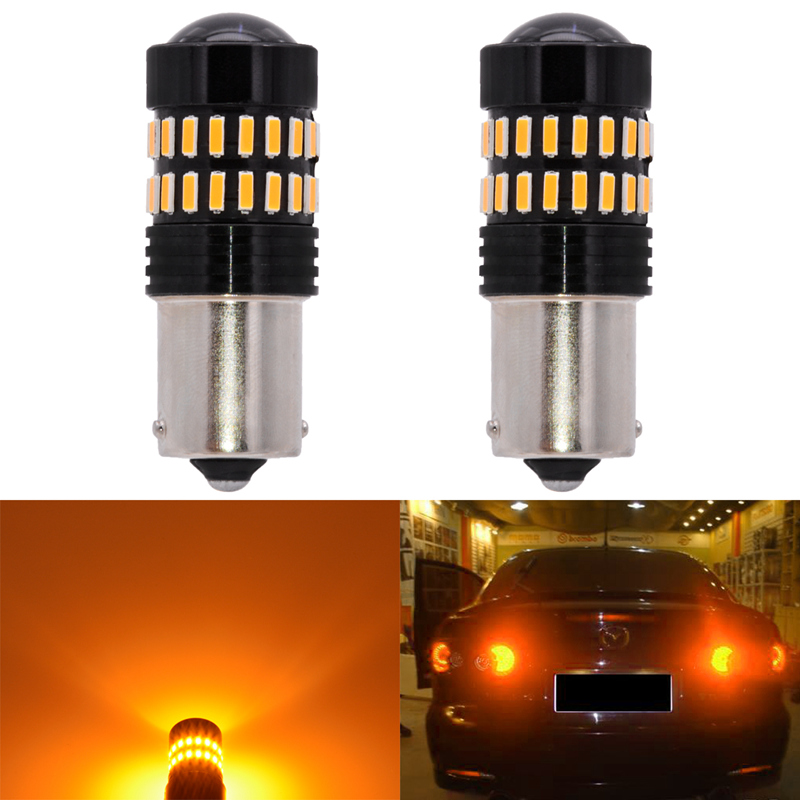 2pcs S25 1156/BA15S 48 Led 4014 Chip 1200 Lumens 6000K White Red Amber Color Car Led Brake Stop Light 1157/BAY15D Double Contact комплект pollo pollo mp002xc003fc