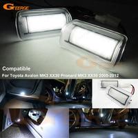 For Toyota Avalon MK3 XX30 Pronard MK3 XX30 2005 2012 Excellent Ultrabright 3528 LED Courtesy Door