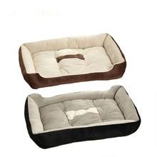 50x38cm Breed Dog Bed Sofa Mat House Kennel Pet Plush Nest Pad Warm Mats