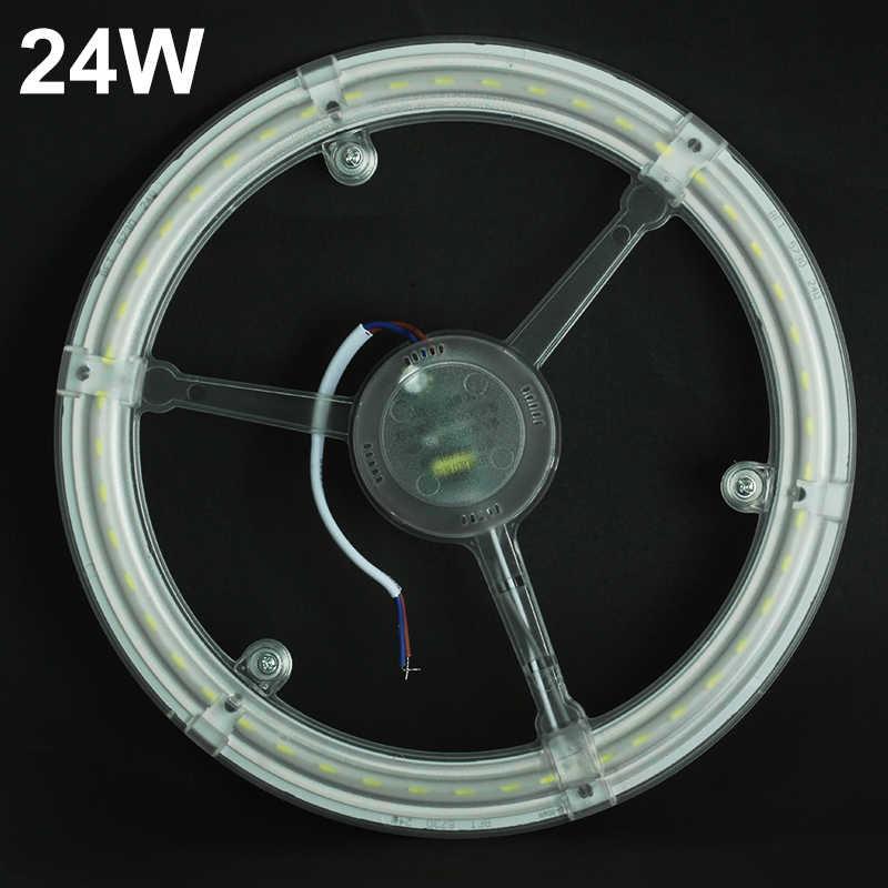 LED Ring Tube Module 12W 18W 24W SMD 5730 LED Ceiling Lights Retrofit Magnet PCB Board CFL Emergency Replace LED Ring Tube Lamp