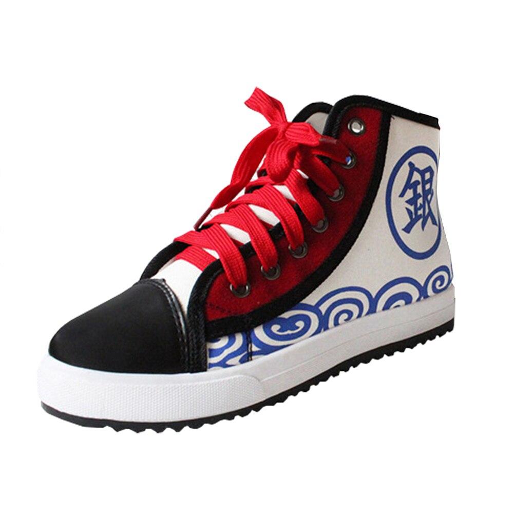 Fate stay night lovelive Korosensei Hatsune Miku Sword Art Online Cosplay Cartoon Logo Canvas shoes Sports Casual Flat Shoes