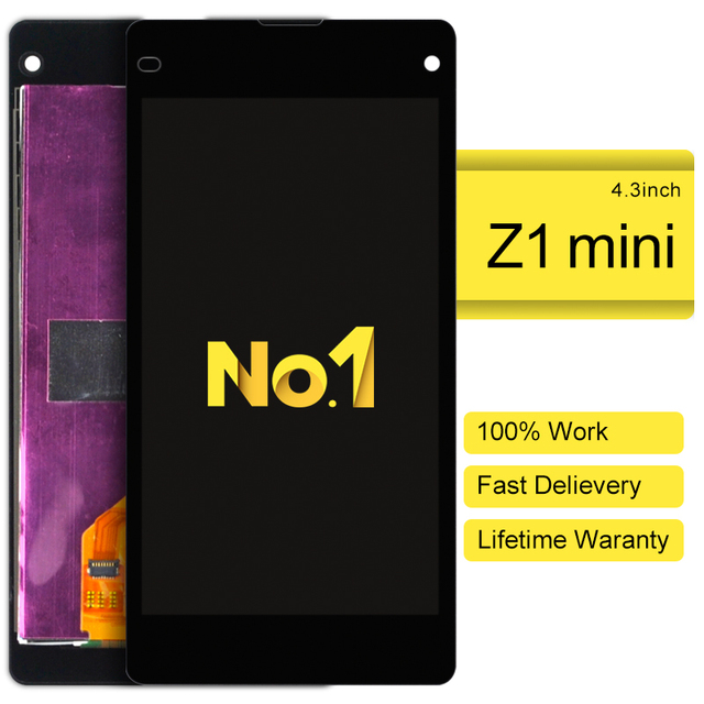 Dhl 10pcs For Sony Xperia Z1 Compact M51w Z1 Mini D5503 Lcd Display With Touch Screen Digitizer Assembly New Promotion