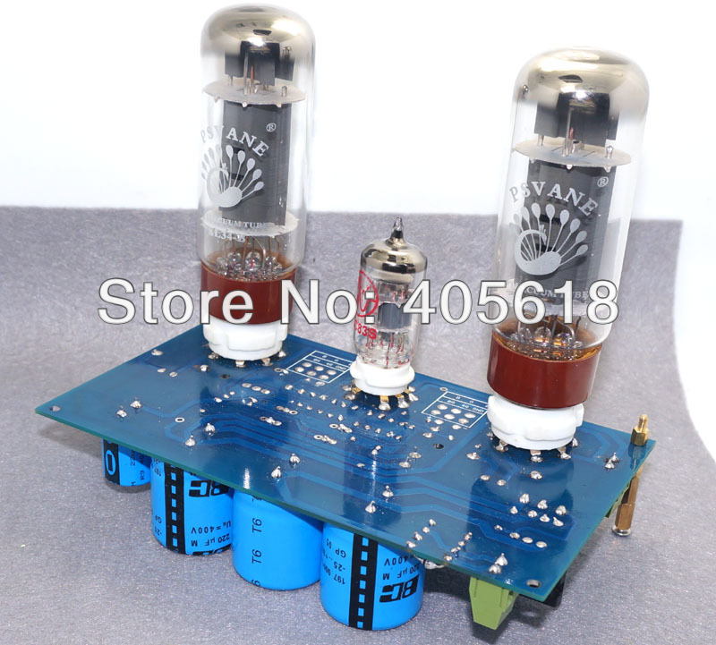 Recommend 10W+10W EL34+ECC83 single-ended Class A Stereo amplifier DIY kit цена