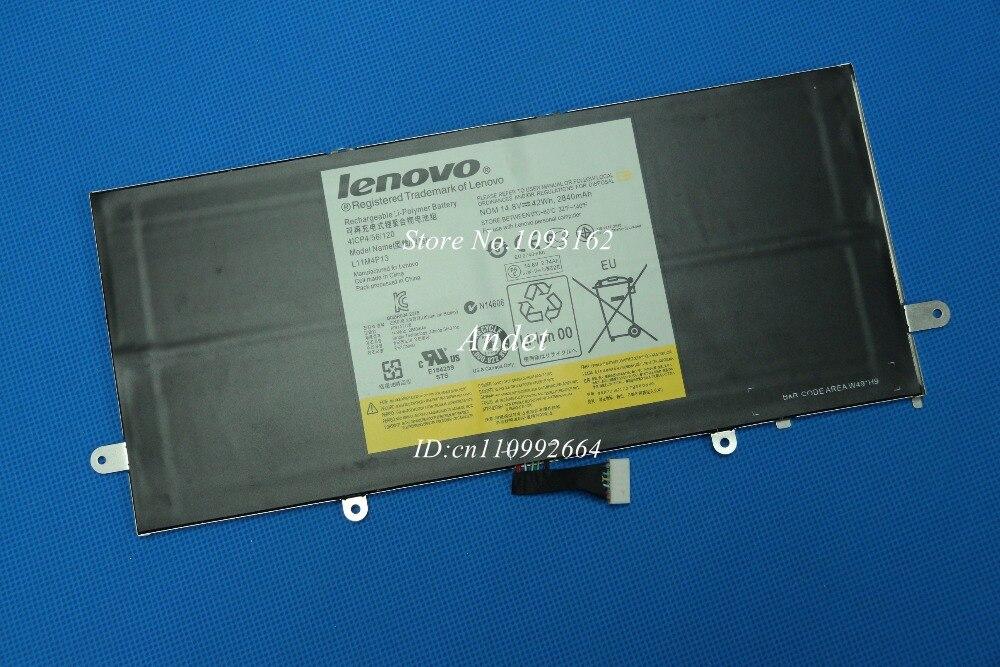 New Genuine Original Battery for Lenovo IdeaPad Yoga 11 11S Ultrabook Batteria Batterie Batteries L11M4P13 14.8V 42WH 2840mAh ультрабук трансформер lenovo ideapad yoga 900s 12isk2 80ml005drk 80ml005drk