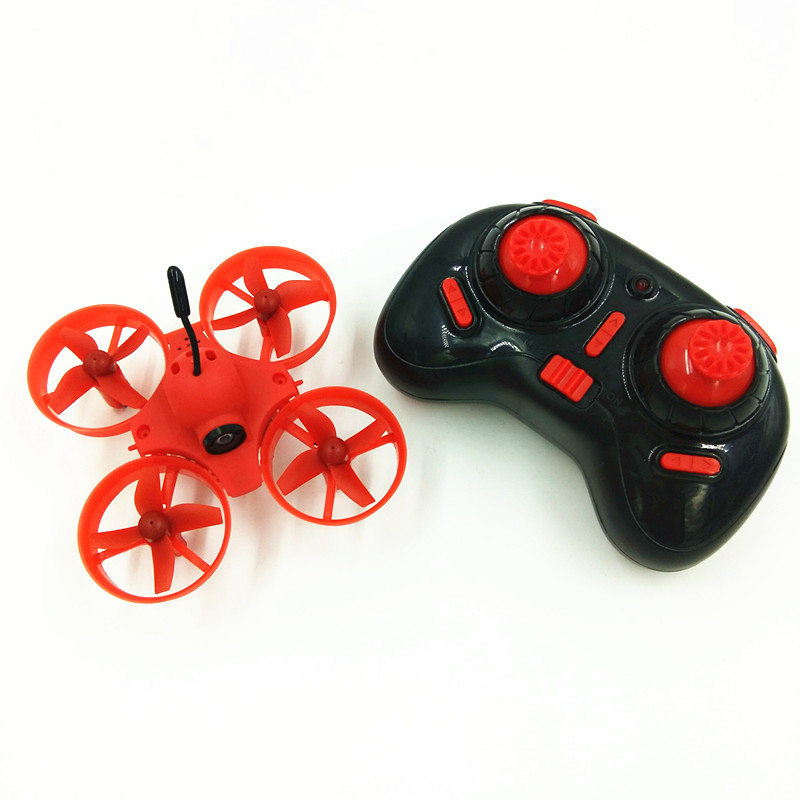 DIY Tiny Whoop 65mm Micro FPV Inductrix Drone w Remote Controller w 5 8G 40CH 800TVL