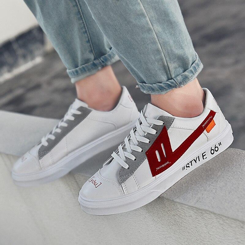 Wen toile chaussures blanc haut haut peint à la main chaussures papillon fleurs herbe Design Original Graffiti baskets grande taille lacé plat - 4