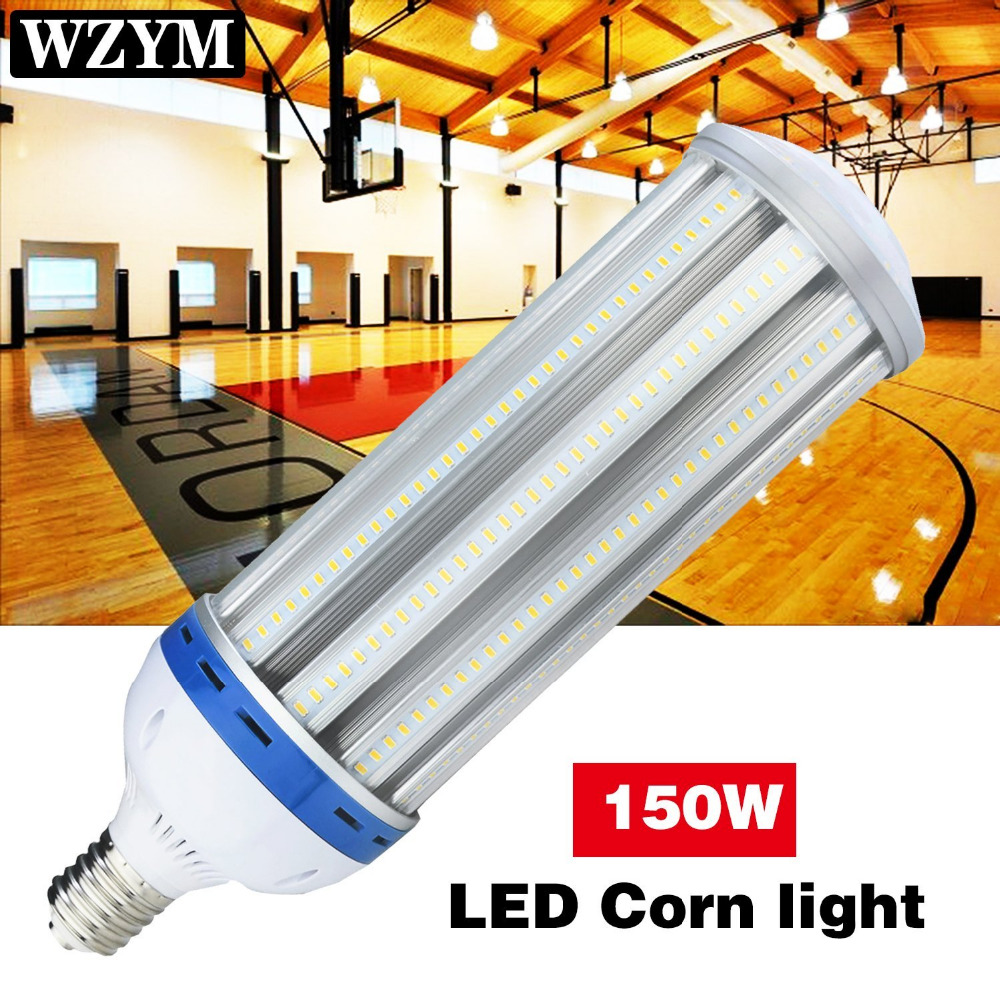 150Watt LED Corn Light Bulb,Works at 110V,277V,305V,600 800Watt HPS Replacement,E39 Mogul Base LED Bulb,High Bay LED Lamp