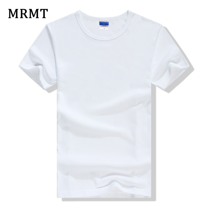 Summer Men's T-shirt Blank T-shirt Fashion Simple Short Sleeved Cotton Lycra Color T-shirt In Korea