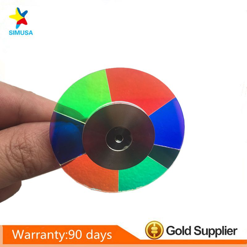 Wholesale Projector Color Wheel for Optoma HD800X Free shipping american art creative retro vintage pendant lights spring iron hanging pendant lamp indoor iron black pendant lamp light