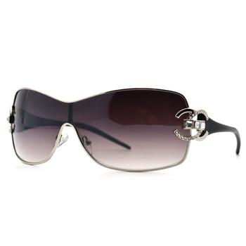 Fashion 2019 Crystal Diamond Sunglasses Women Men Outdoor Oversize Shades Ladies Sun Glasses Gradient Mirror zonnebril dames Top