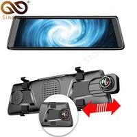 Sinairyu 10 ips полный сенсорный экран монитор с зеркальным отображением DVR с задней камерой автомобиля Android 5,1 gps Navi 4G ADAS Bluetooth wifi 1080 P