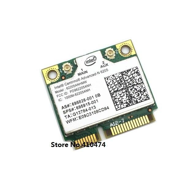 Para Intel 6205 62205 ANHMW 802.11a / b / G / n 2.4 G / 5.0 Ghz sem fio metade Mini PCI-E Card para HP EliteBook 8470 p 8770 W SPS 695915 - 001
