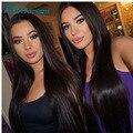 Peruano reta cabelo virgem 7A Não Transformados barato Peruano Reta Extensões de Cabelo 100% cabelo humano cabelo peruano 4 feixes
