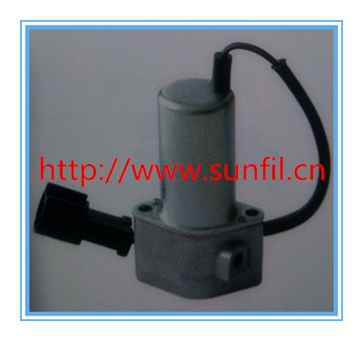 High quality,702-21-07010 Main pump solenoid valve,Pilot valve for 6D102 Komatsu PC200-6