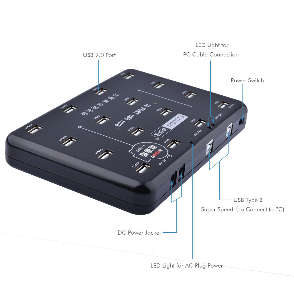 USB Duplicator,dual Usb Cable Suport Handling Several SSD Disks, An External Graphic Adapter,a Printer,mice, Keyboards