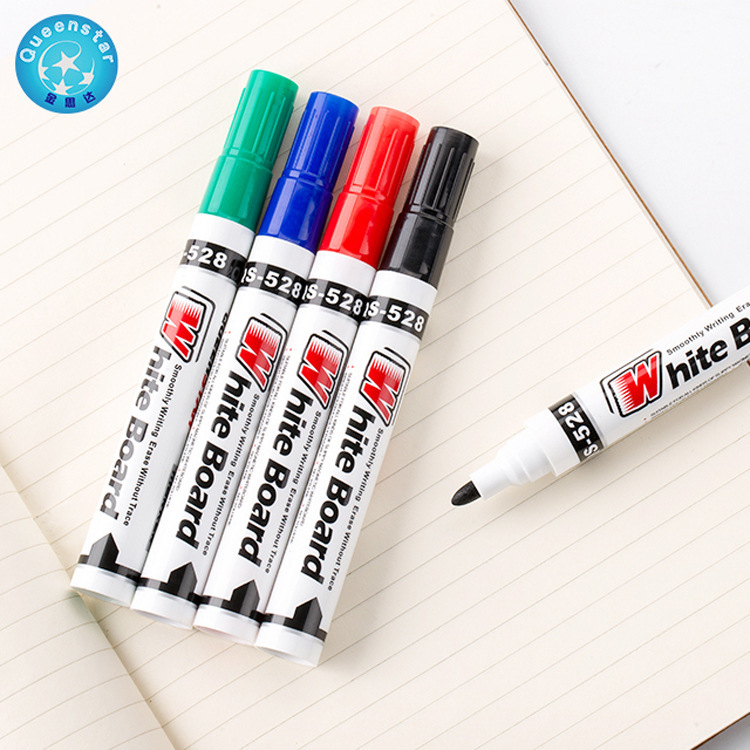 4PCS Lot 4colors Whiteboard Marker White Board Marker Environment Friendly Marker Office School Supplies Black Red Blue Green