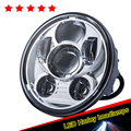 "Black 5.75"" Daymakers Hid LED Light Bulb Headlight For Harleys Sportster 883 1200"