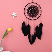 Feather Crafts Dream Catcher Dream catcher Handmade Indian Wind Bells Net for Hanging Wall Home Decor Car Decoration