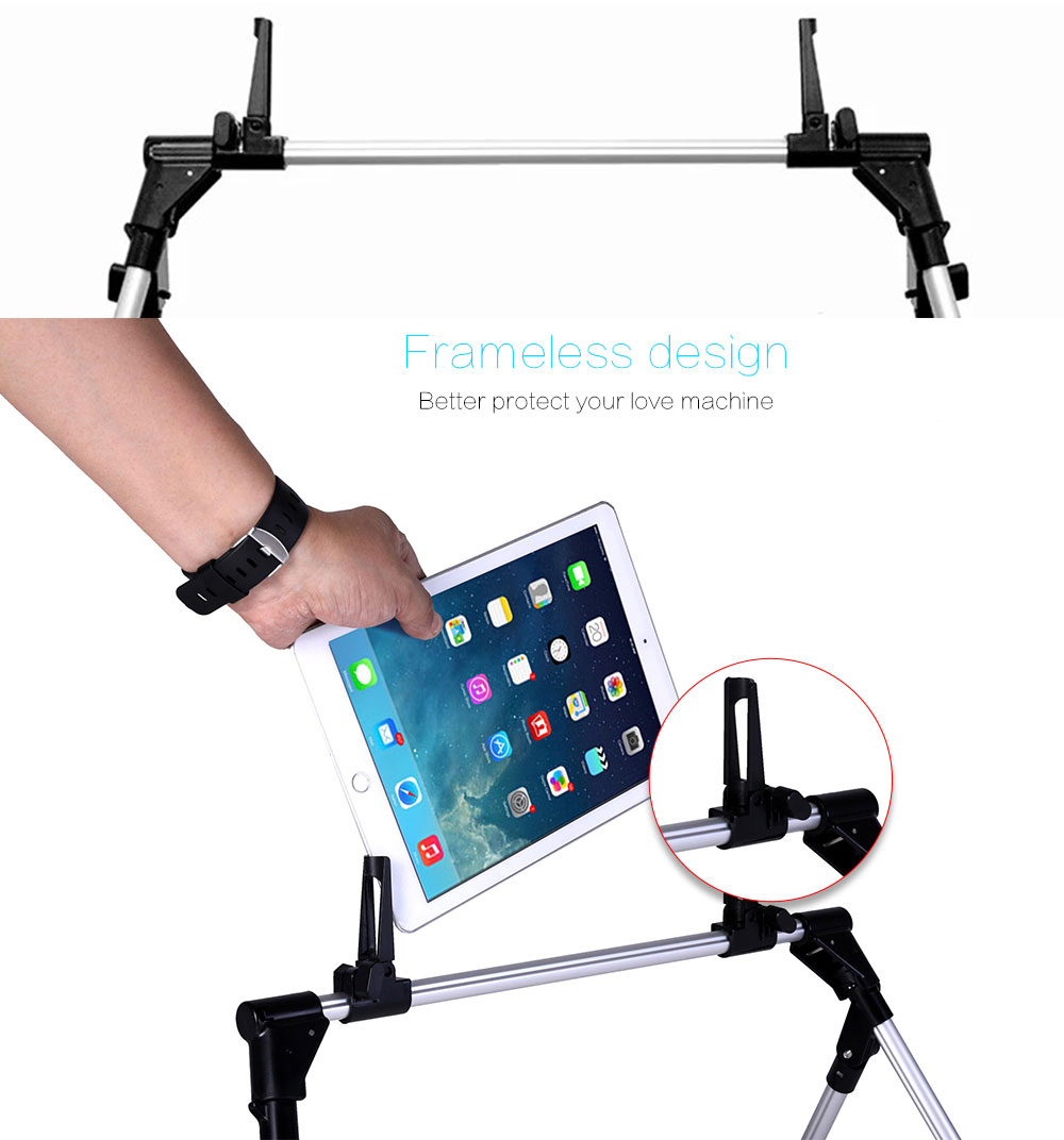 Portefeuille Tablet Phone Stand for Bed Sofa Desk Holder for iPad Pro 12.9 10.5 iPhone X 7 8 Plus Xiaomi Mi Max 3 Porta celular (8)