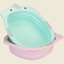 Collapsible children's small Bath Tub washbasin baby plastic Baby Care Bath Tubs