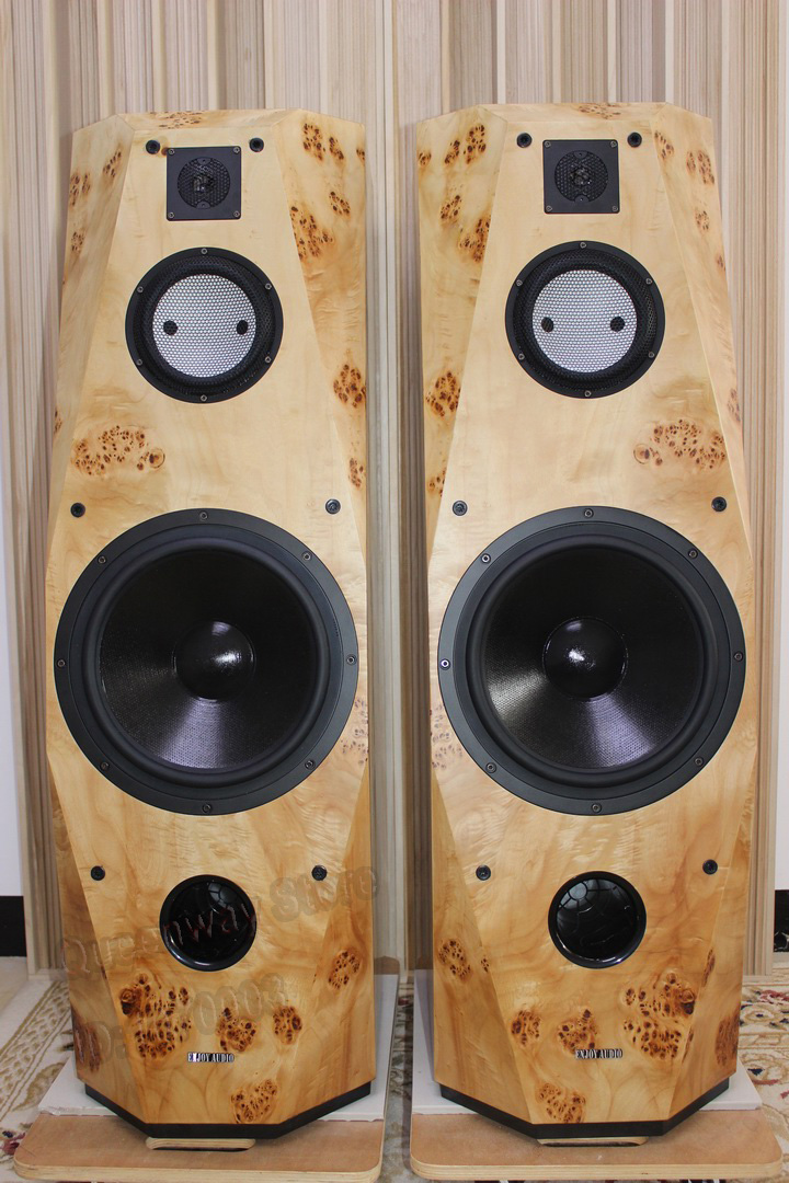 cav mr9l high end home theater system main passive double speaker